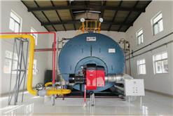 陕西某食品厂10吨超低氮燃气锅炉