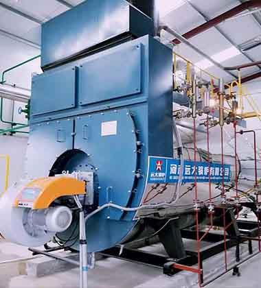 性能稳定,   出力足; 2 全自动运行,司炉用工   少; 3 锅炉房占地面积图片